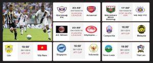 Demkhuya TV - Xem trực tiếp tất cả các giải đấu bóng đá
