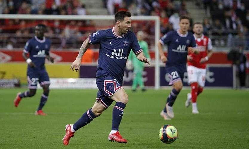 Messi và Mbappe xoa tin don 1